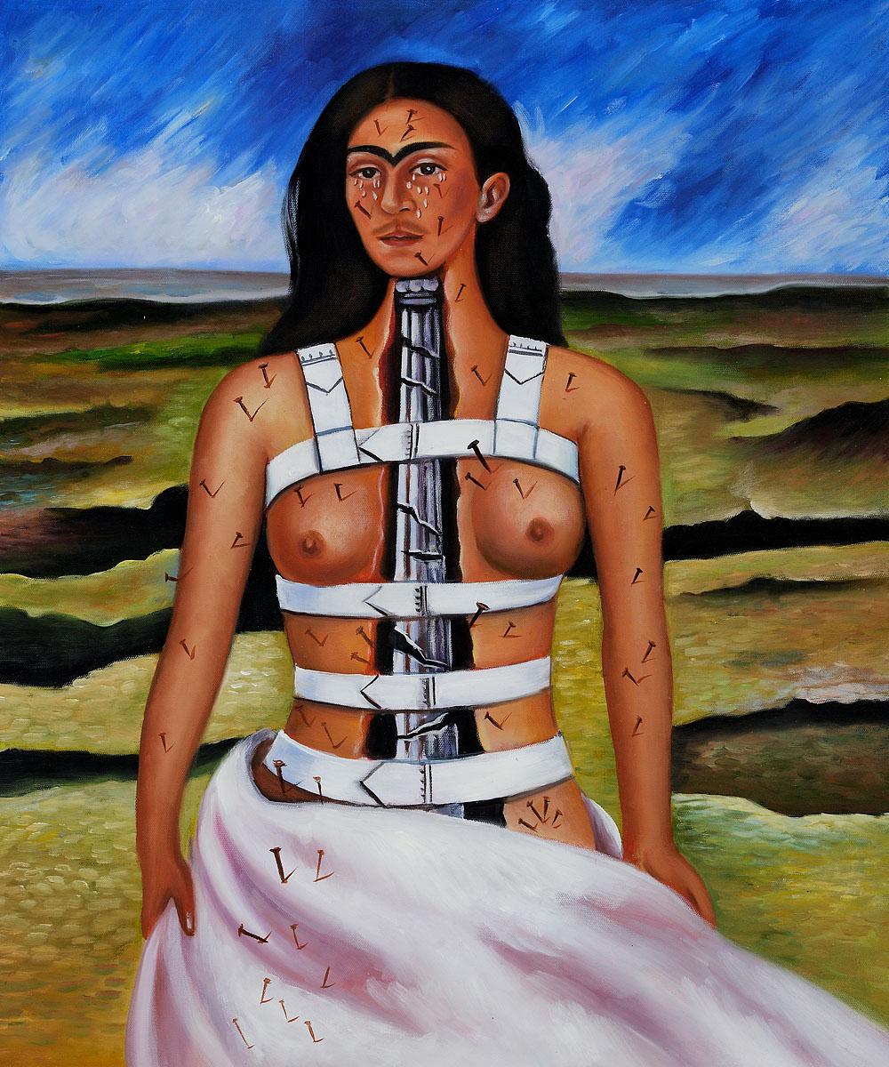 Bildergebnis für Kahlo Säule